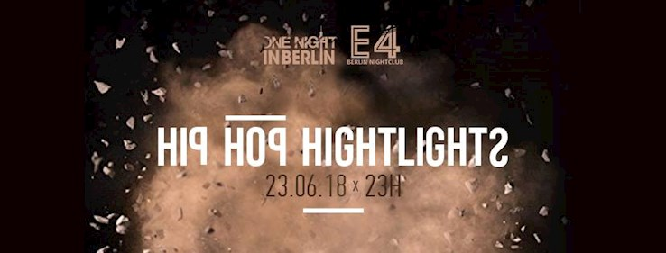 E4 23.06.2018 One Night in Berlin | Hip Hop Highlights