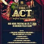 "Felix Berlin The Act pres. ""The Amazing Pre Opening!"" Der neue Freitag im Felix Club"