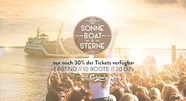 Hamburg 05.09.2015 Sonne, Boat & Sterne 2015 - 10 Boote, 20 DJs, Love & Happiness!