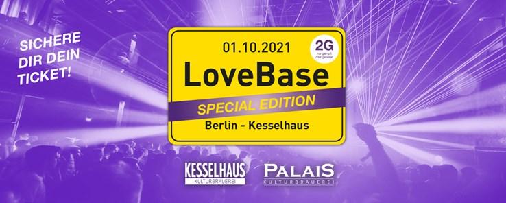 Kesselhaus 01.10.2021 LoveBase Open Air - Special Edition