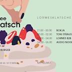 Kaffee Burger Berlin Lormesklatsche #75