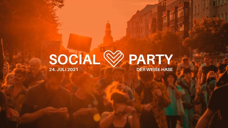 Der Weiße Hase 24.07.2021 Social Meetup - Zug der Liebe #socialparty