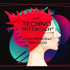 Ava Berlin Techno Mittwoch (Two Floors, Big Rave)