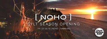 NOHO Hamburg Eventflyer #1 vom 27.03.2015