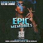"""The Code Berlin Code: Black presents """"Epic Memories"""""""