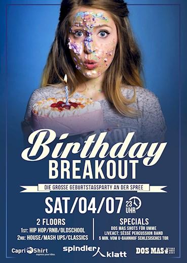Spindler & Klatt 04.07.2015 Birthday Breakout Party