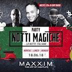 Maxxim Berlin Monday Nite Club - Notti Magiche / Italienische Nacht by Jam Fm