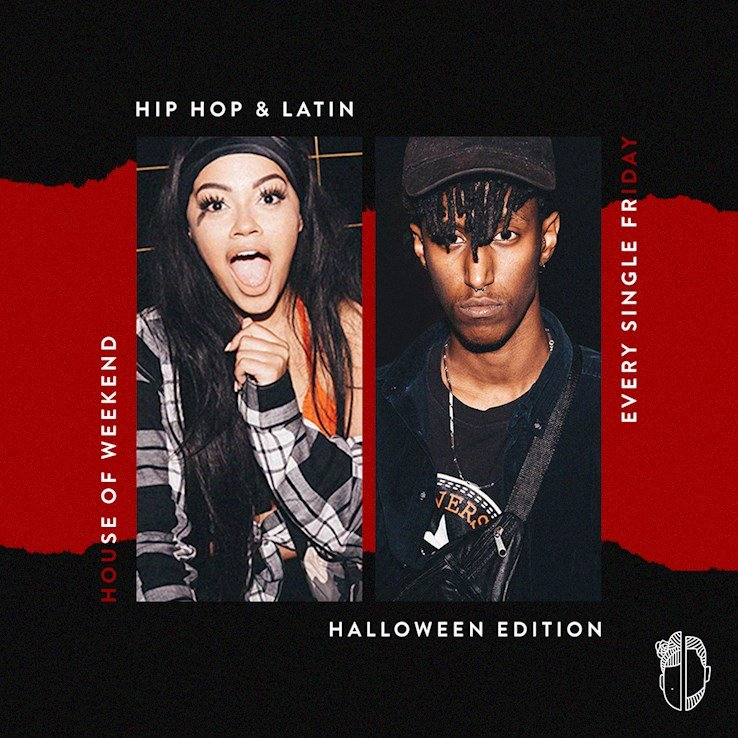 House of Weekend 26.10.2018 Penelope & Jackson - Halloween Edition - Hip Hip / Latin