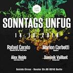 Suicide Circus Berlin Sonntags Unfug w/ Rafael Cerato, Marion Cobretti uvm