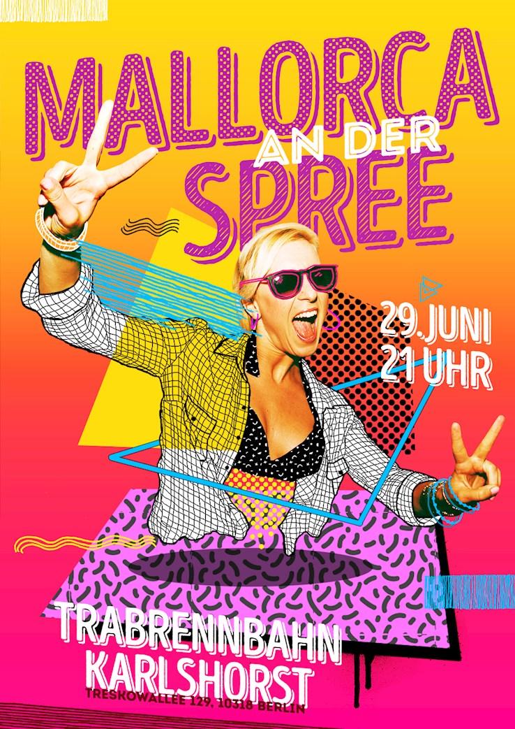 Trabrennbahn Karlshorst 29.06.2019 Mallorca an der Spree