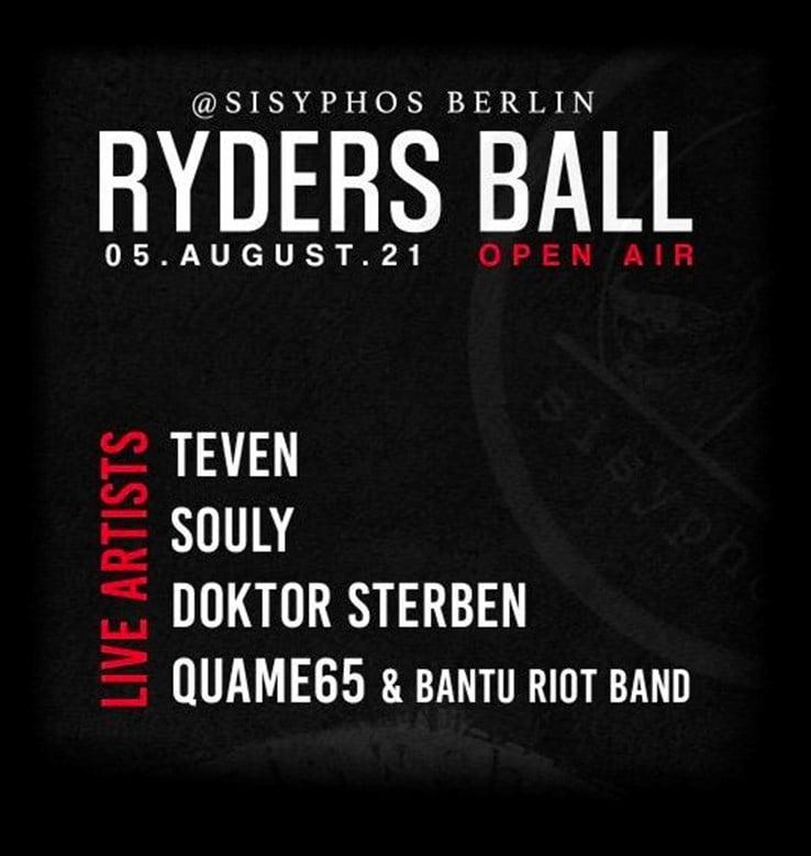Sisyphos Berlin Eventflyer #1 vom 05.08.2021