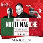 Maxxim Berlin Notti Magiche - Maxxim Saturdays