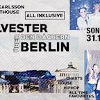 Karlsson Penthouse Berlin The Penthouse All Inclusive Silvesterparty 17/18 - Die Silvesterparty über den Dächern von Berlin