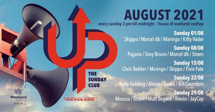 Club Weekend Berlin Eventflyer #1 vom 01.08.2021