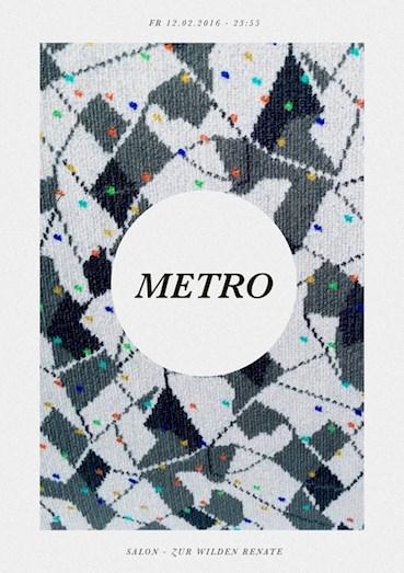 Salon - Zur wilden Renate 12.02.2016 Metro