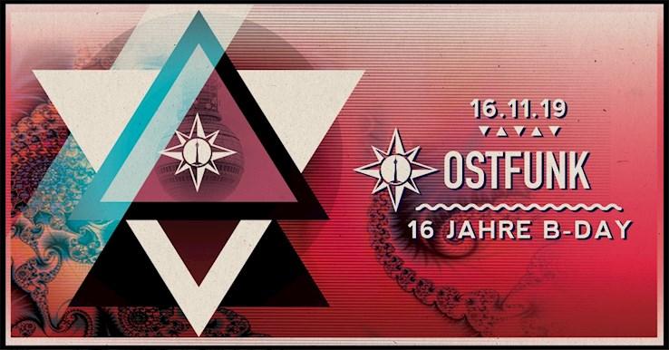 Osthafen 16.11.2019 16 Jahre Ostfunk /w. Westbam, Pappenheimer, Fabio Fusco, DeKai