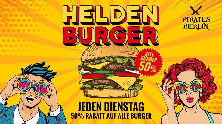 Pirates Berlin Eventflyer #1 vom 03.08.2021