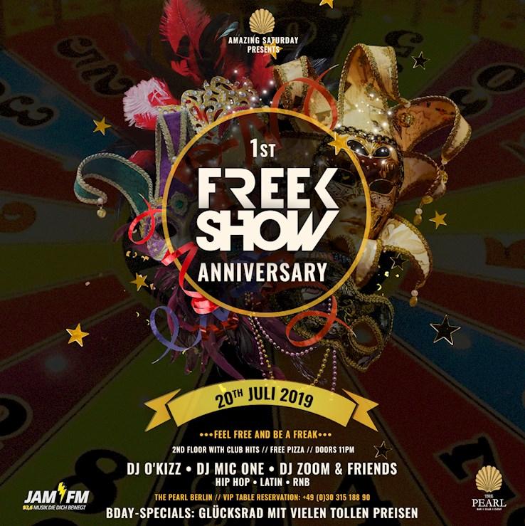 The Pearl 20.07.2019 1st Anniversary - Freekshow | JAM FM