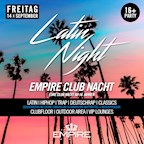 Empire Berlin Empire Club Nacht - Latin Night