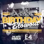 E4 Berlin One Night in Berlin / The Big Birthday Blowout