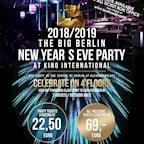 Kino International Berlin Die große Berliner Silvester Party 2018/2019