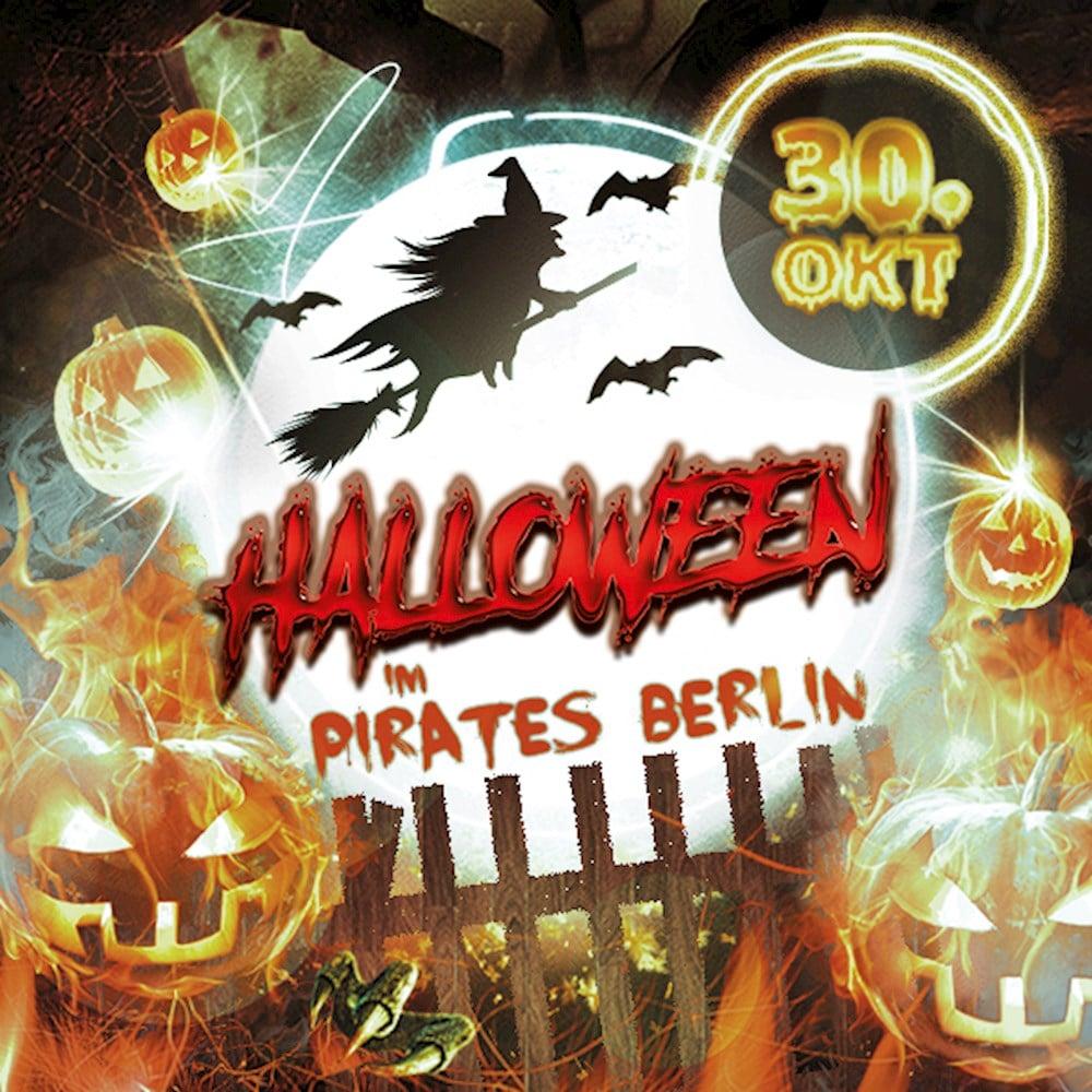 Pirates Berlin Die Halloween Party 2017 im Pirates Berlin