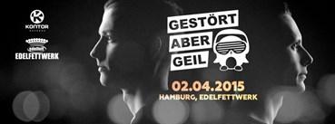 Edelfettwerk Hamburg Eventflyer #1 vom 02.04.2015