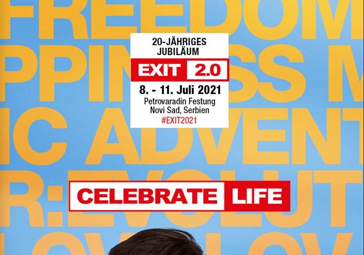 Belgrade, Serbia 08.07.2021 Exit 2.0