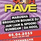 Trabrennbahn Karlshorst Berlin Mega 90er Rave / Marusha & Brooklyn Bounce