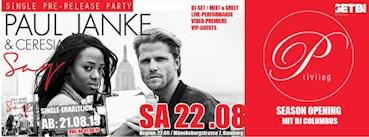 Privileg Hamburg Eventflyer #1 vom 22.08.2015