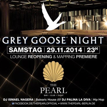 The Pearl 29.11.2014 Grey Goose Night - Lounge Reopening und Mapping Premiere