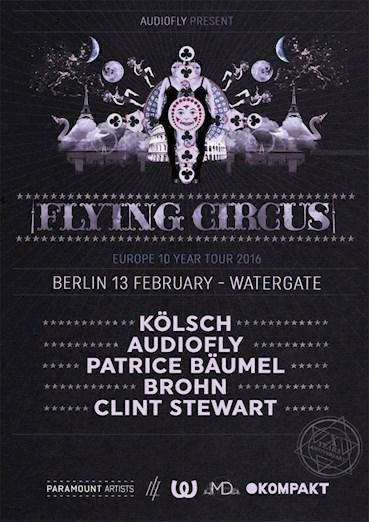 Watergate 13.02.2016 10 Years Flying Circus