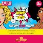 Empire Berlin Empire Club Nacht - Latin meets Hip Hop