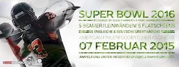 Club Hamburg  Eventflyer #1 vom 07.02.2016