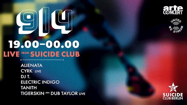 Suicide Club 09.04.2020 United We Stream #Suicide