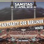 House of Weekend Berlin Auftaktparty der Berliner Unis - Das Original über den Dächern Berlins