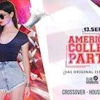 Club Hamburg  American College Party