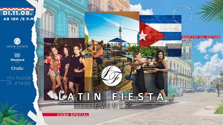 Club Weekend 11.08.2020 Latin Rooftop Cuba Special