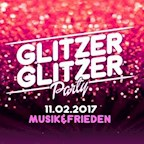 Musik & Frieden Berlin Glitzer Glitzer Party