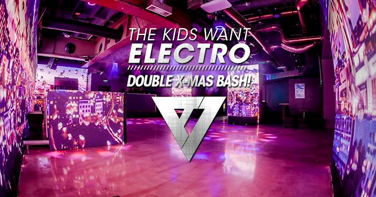 ASeven 16.12.2017 The Kids Want Electro – Double Xmas Bash