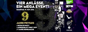 Privileg Hamburg Eventflyer #1 vom 19.11.2016