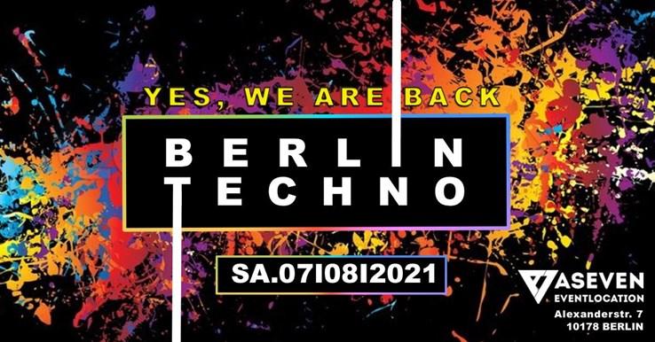 ASeven 07.08.2021 Berlin Techno w/ DJ Emerson, SoKooL, Techno Jesus, Dachgeschoss b2b Schmitzkatzki,