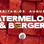 Club Weekend Berlin Watermelon & Burger - Rooftop Open Air - Hip Hop Edition