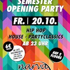 Narva Lounge Berlin Semester-Opening Party: Study hard, Party harder