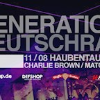 Haubentaucher Berlin Generetion Deutschrap - Indoor & Outdoor