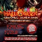 """Spindler & Klatt Berlin Halloween Party Berlin presents """"Creatures of Hell"""""""