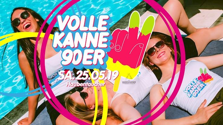 Haubentaucher 25.05.2019 Volle Kanne 90er – Die 90er Jahre Party