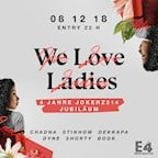 E4 Berlin We Love Ladies - 4 Jahre Jokerz214 Jubiläum