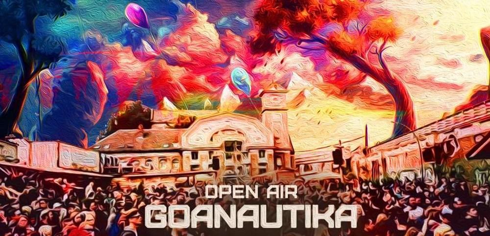 Osthafen Berlin Goanautika Open Air Halloween/w. Bubble,LsDirty