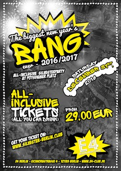E4 Berlin The Biggest New Year's Bang Ever 16/17
